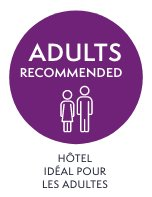 Adultes recommandés Hotel Orange
