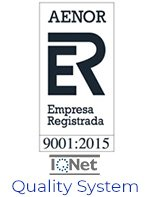 AENOR registered company quality system