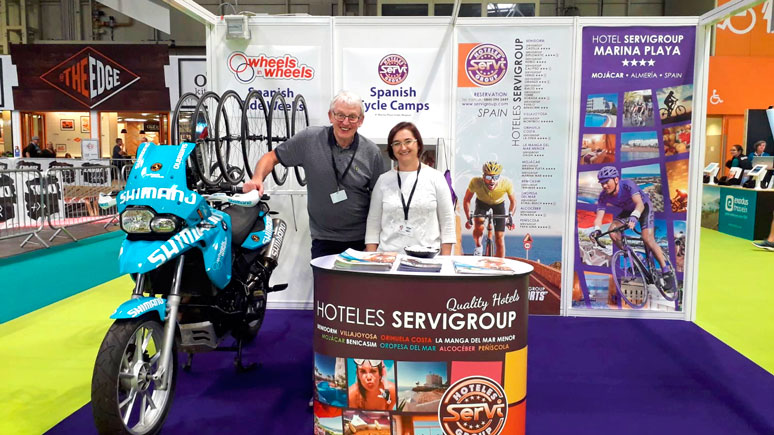 Servigroup, The Cycle show Birmingham