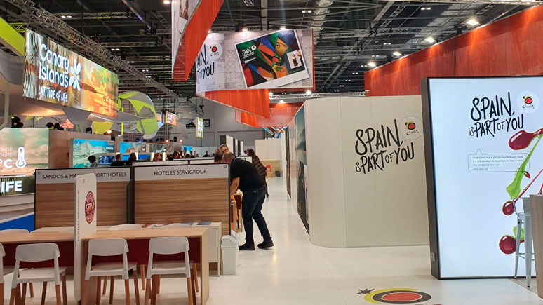 Servigroup at the 2019 WTM