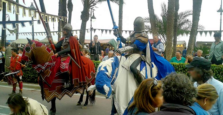 Tournament in the Medieval Market of Benidorm