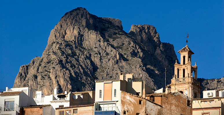 The Puig Campana in Finestrat
