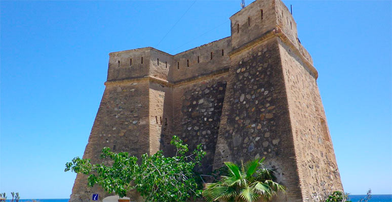 Villaricos Castle on the Almería Coast
