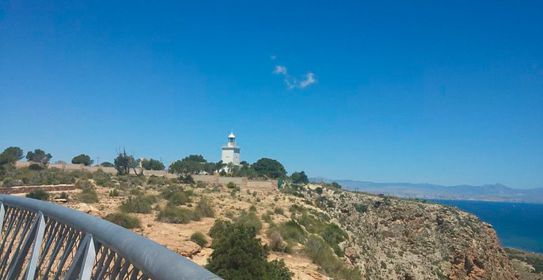 Lighthouse at Santa Pola