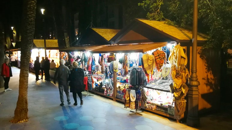 Christmas markets in Benidorm