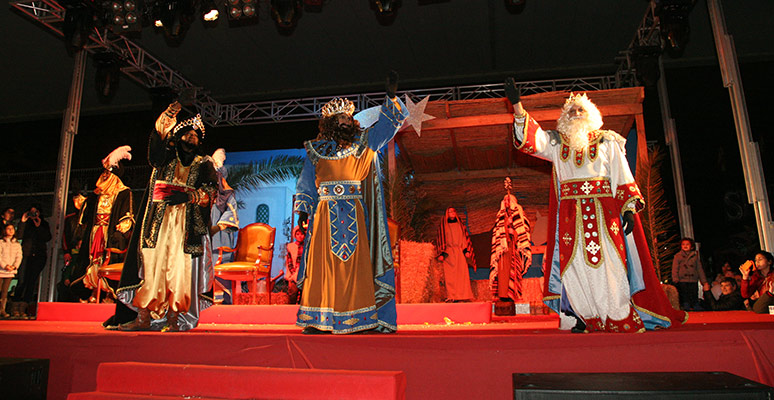 Three Kings parade in Benidorm